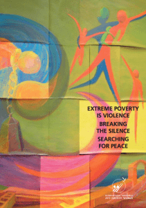 Poverty is Violence
