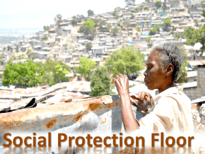 "Position Paper on a ""Social Protection Floor for All: Indispensible for Eradicating Extreme Poverty by 2030"""