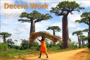 Employment and Decent Work for All